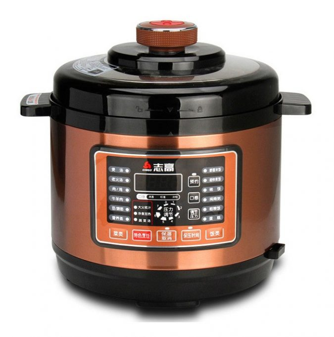 orange-Instant-pot-kitchenware-675x682 11 Tips on Mixing Antique and Modern Décor Styles