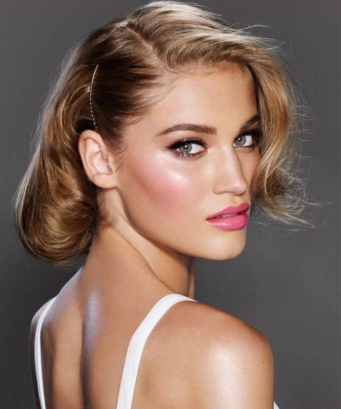 pink-lips-bridal-makeup-675x809 Top 10 Wedding Makeup Ideas for 2018 Brides