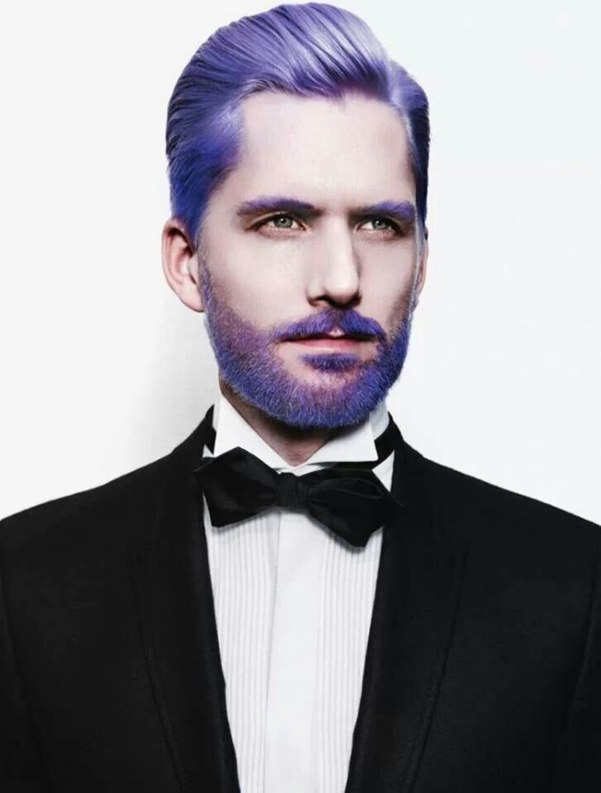 purple-beard-675x891 Top 10 Most popular Beard Colors Trending in 2018