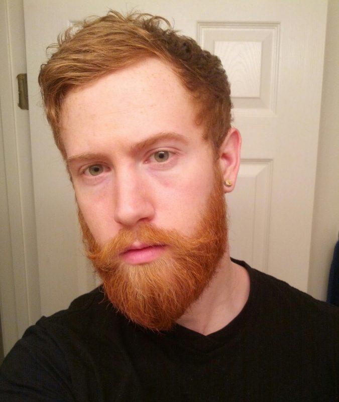 red-beard-675x801 Top 10 Most popular Beard Colors Trending in 2018