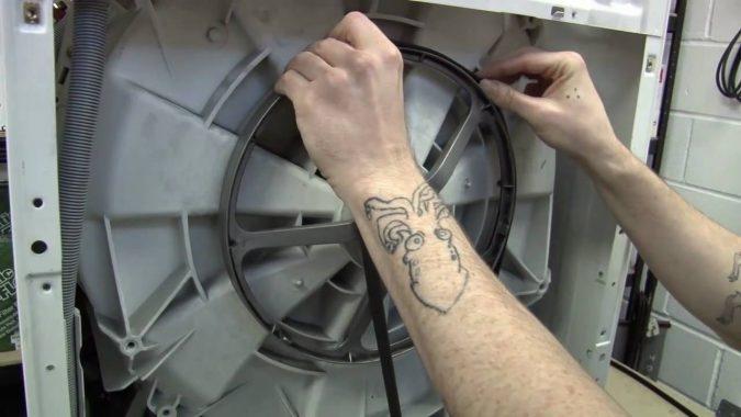 replacing-washing-machine-Water-Pump-Belt-675x380 Top 10 Washing Machine Parts That Need Repair in Canada