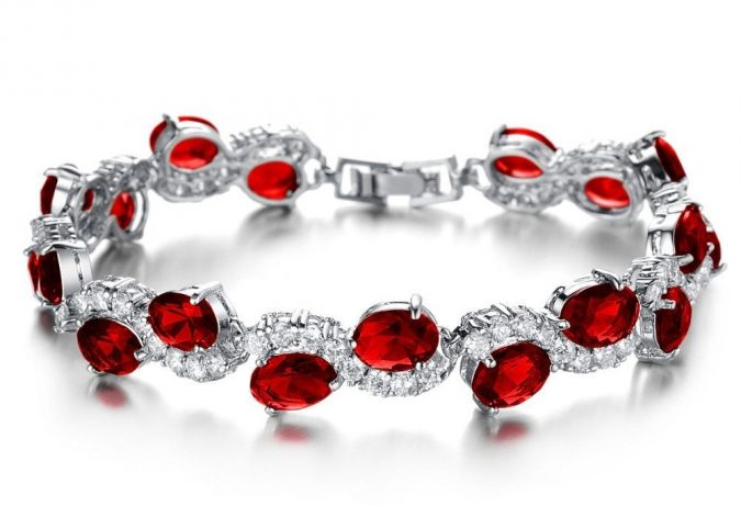 ruby-bracelet-jewelry-gift-675x461 Top 10 Best Wedding Anniversary Gift Ideas for 2020 (Updated List)