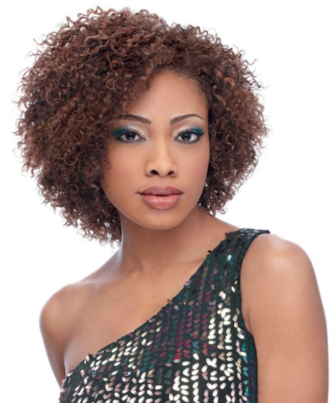 short-curly-weave-hairstyle-for-black-women-675x818 Top 10 Cutest Short Haircuts for Black Women in 2018
