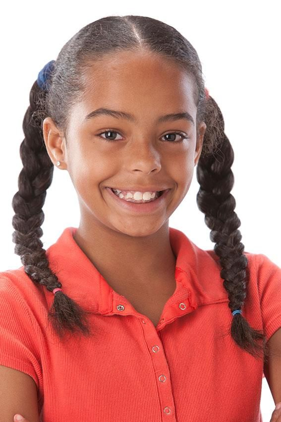 two-long-braids-hairstyle-1 Top 10 Cutest Hairstyles for Black Girls in 2020