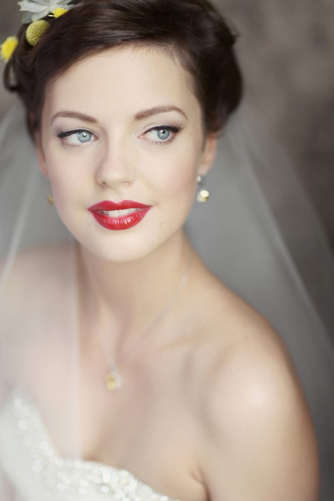 wedding-bridal-makeup-red-lip-675x1013 Top 10 Wedding Makeup Ideas for 2018 Brides