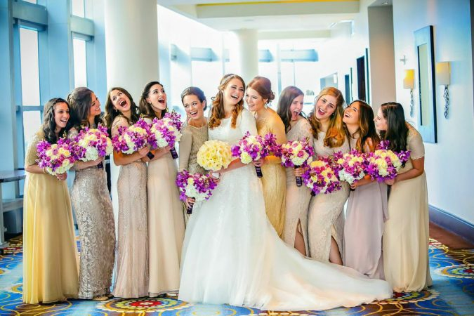 wedding-bridesmaids-2-675x450 10 Outdated Wedding Trends to Avoid in 2020