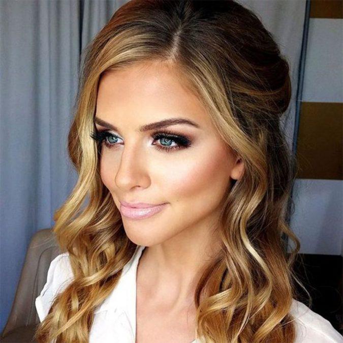 wedding-makeup-Bronze-smokey-eyes-2-675x675 Top 10 Wedding Makeup Ideas for 2018 Brides