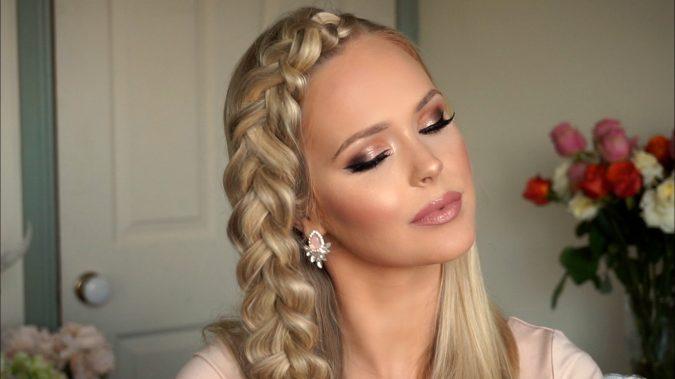 wedding-makeup-Bronze-smokey-eyes-675x379 Top 10 Wedding Makeup Ideas for 2018 Brides