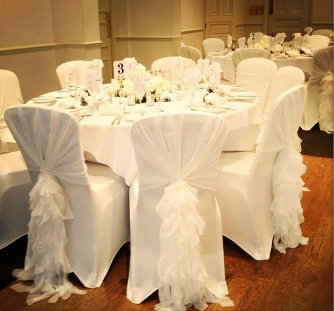wedding-white-chair-covers-675x628 10 Outdated Wedding Trends to Avoid in 2018