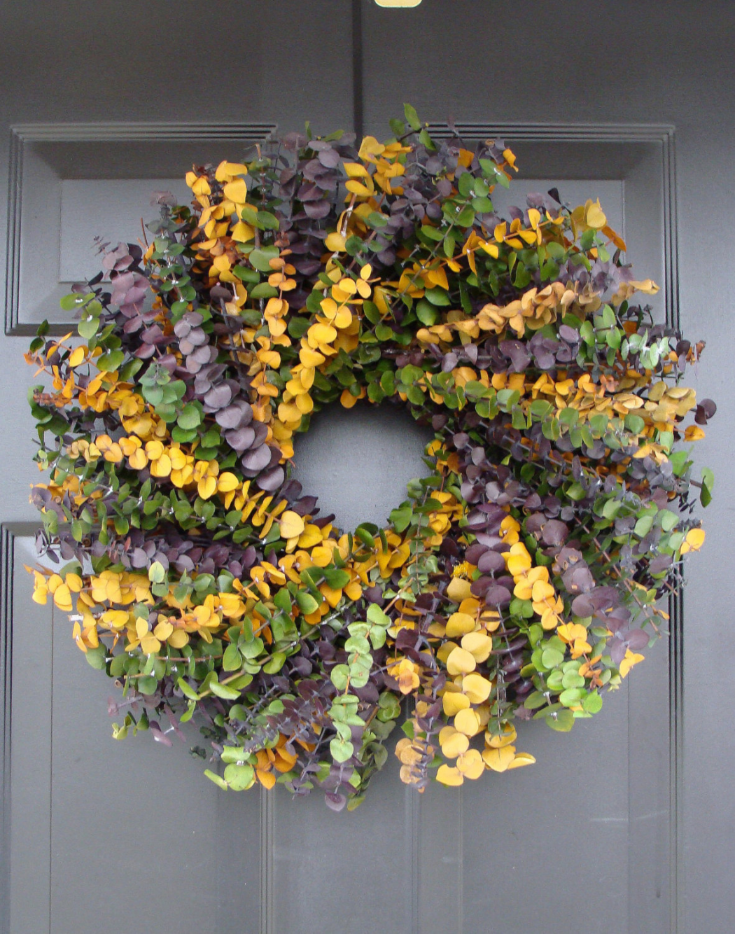word-image-11 Fat Tuesday is Coming! 11 Classy Mardis Gras Wreaths for Your Front Door