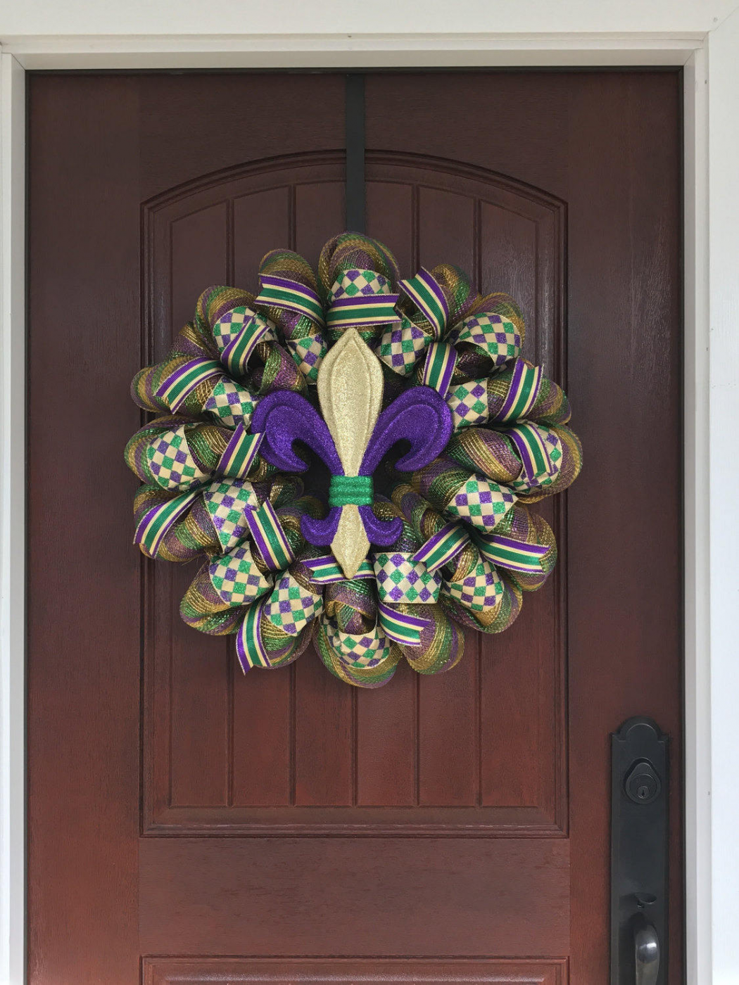 word-image-14 Fat Tuesday is Coming! 11 Classy Mardis Gras Wreaths for Your Front Door