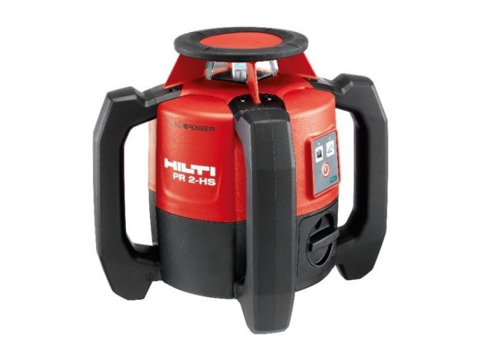 6.-Hilti-PR-2-HS-Rotating-Laser-675x490 Top 10 Best Construction Tools List in 2020 ... [with pictures]