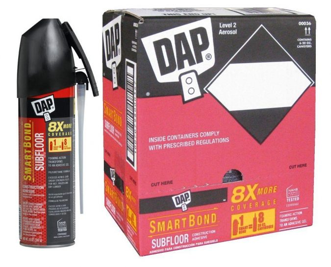 DAP-Smartbond-Adhesive-675x545 Top 10 Best Construction Tools List in 2018 ... [with pictures]