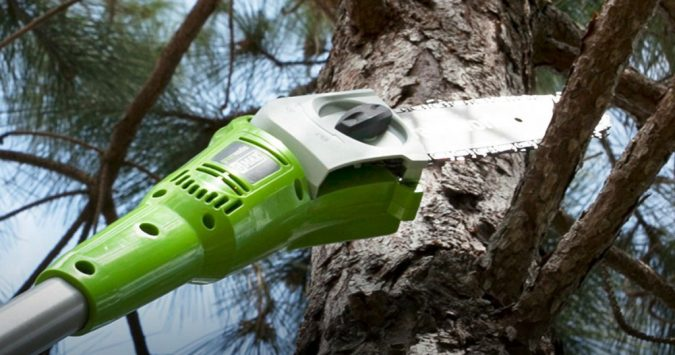Greenworks-Pole-Saw-2-675x355 Top 10 Best Construction Tools List in 2018 ... [with pictures]