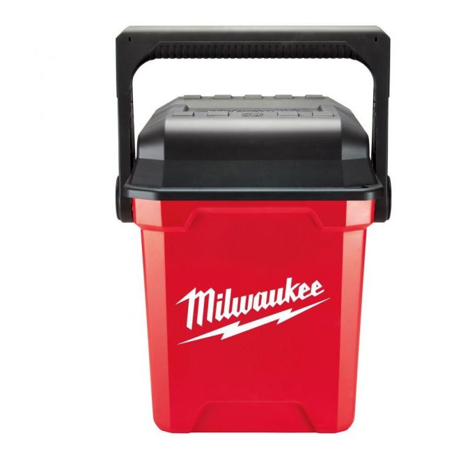 Milwaukee-13-inch-Jobsite-Work-Box-675x675 Top 10 Best Construction Tools List in 2018 ... [with pictures]