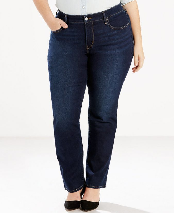 Straight-Out-Legs-jeans-outfit-2-1-675x825 8 Tips to Choose the Best Jeans for Your Body Shape
