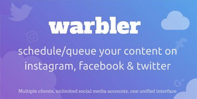 Warbler-Social-Auto-Post-script-675x340 Top 10 Best Social Auto Post Scripts for 2020
