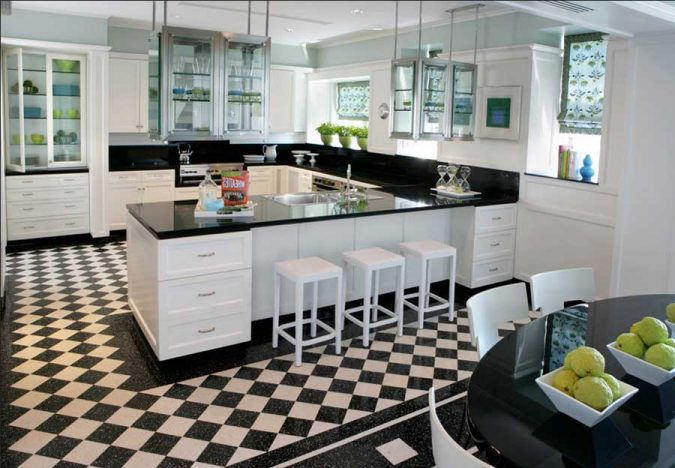 checkered-flooring-675x468 Top 10 Innovative Flooring For Your New House