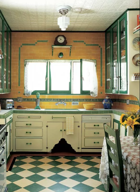 kitchen-checkered-floor Top 10 Innovative Flooring For Your New House