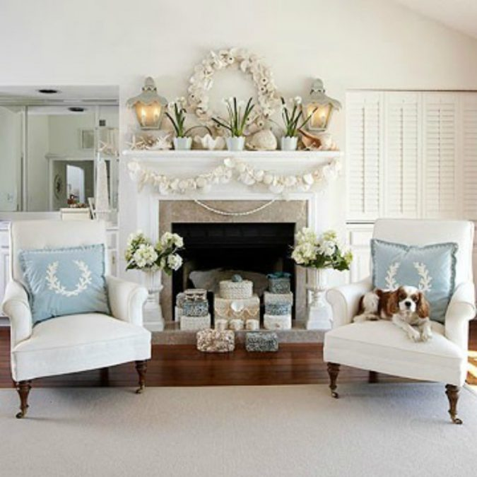 white-living-room-christmas-675x675 Top 10 Ideas To Make Your Home Look Magical and Enjoyable For Holidays