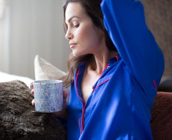 woman-drinking-coffee-675x551 Weight Loss after a Baby