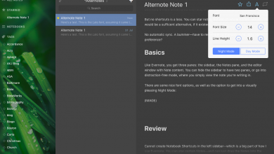 Photo of Alternative Evernote client for Mac
