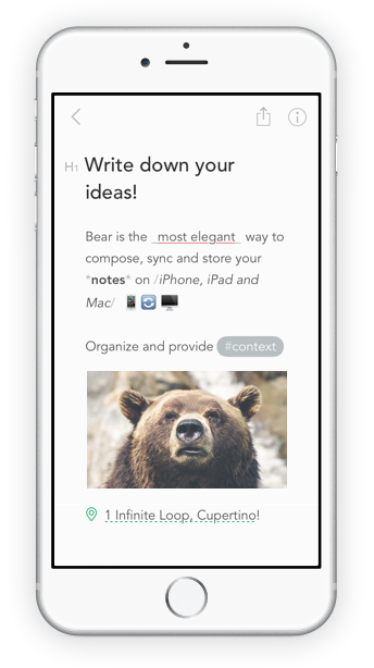 Bear 6 Best Note Management Software Products on Mac