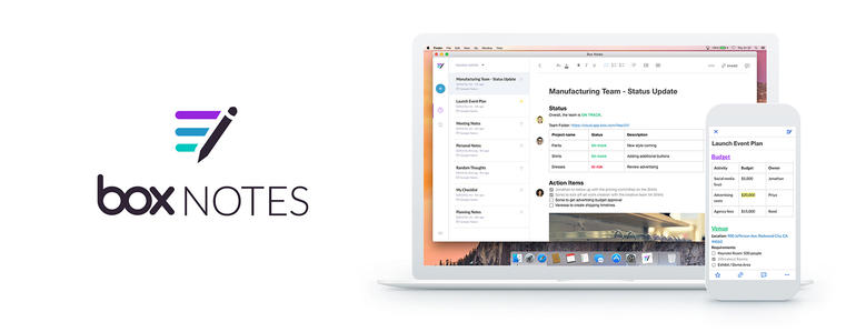 BoxNotes 6 Best Note Management Software Products on Mac
