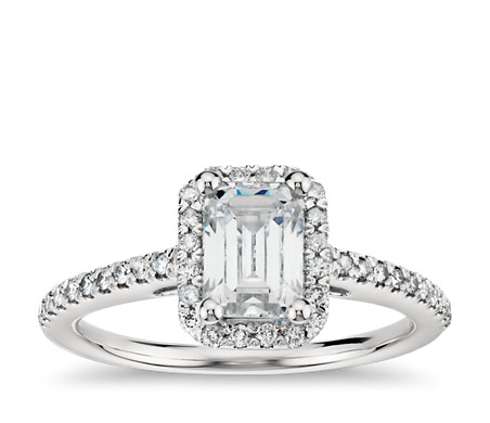 Emerald-Cut-engagement-rings 11 Tips on Mixing Antique and Modern Décor Styles