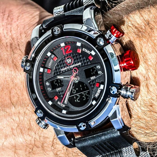 Geard-Hardware-big-face-watches 7 Reasons Why Big Men Should Wear Big Watches