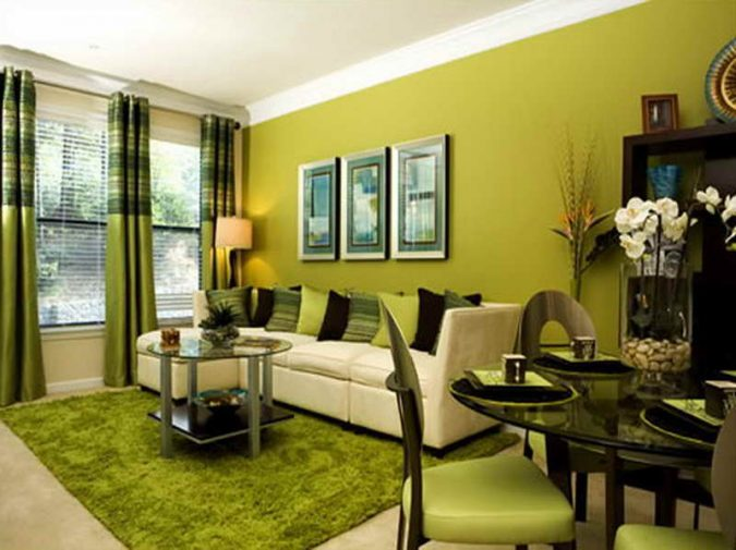 Greening-Things-Out-675x505 5 Tips To Enhance Your Living Room With Less Effort
