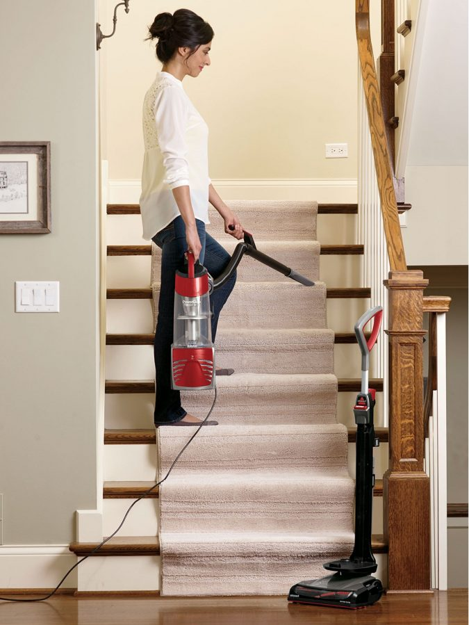 Bissel-vacuum-for-cleaning-stairs-675x899 All There Is To Know About Bissell Vacuum Cleaner