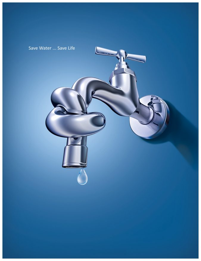 Save-Water-675x875 Top 10 Ways to Make a Difference in the World