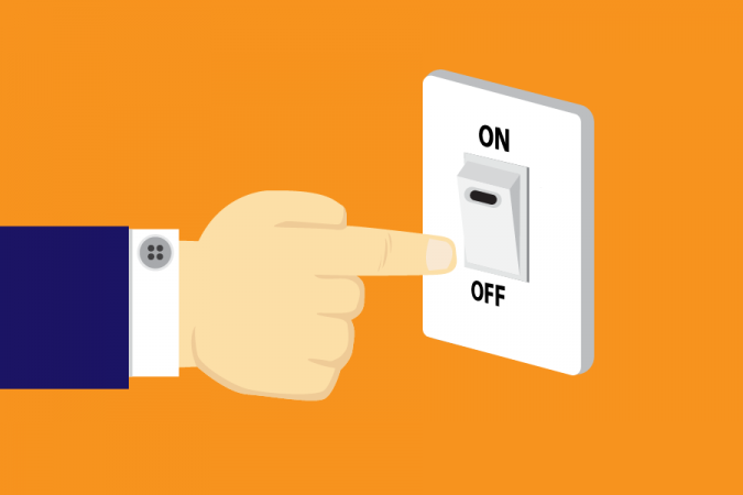 Switch-off-Electricity-675x450 Top 10 Ways to Make a Difference in the World