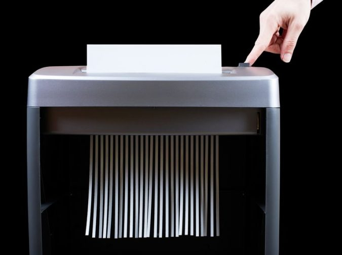 hand-operating-paper-shredder-104626001-59e139f622fa3a00109389ed-675x504 9 Most Secure Technical Tools for Your Home Business