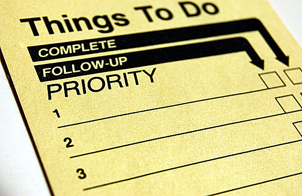 priority_to-do-list 12 Tips To Prevent Job Search Depression