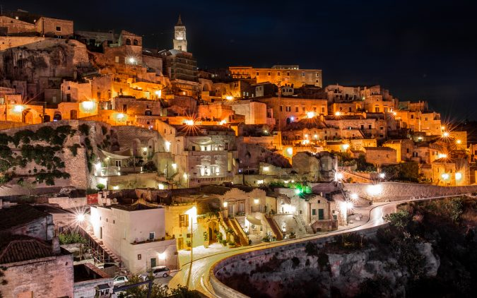 Italy_Houses_Roads_Matera_Basilicata_Night_Street_522330_3840x2400-675x422 Best 5 Italy's Hidden Destinations