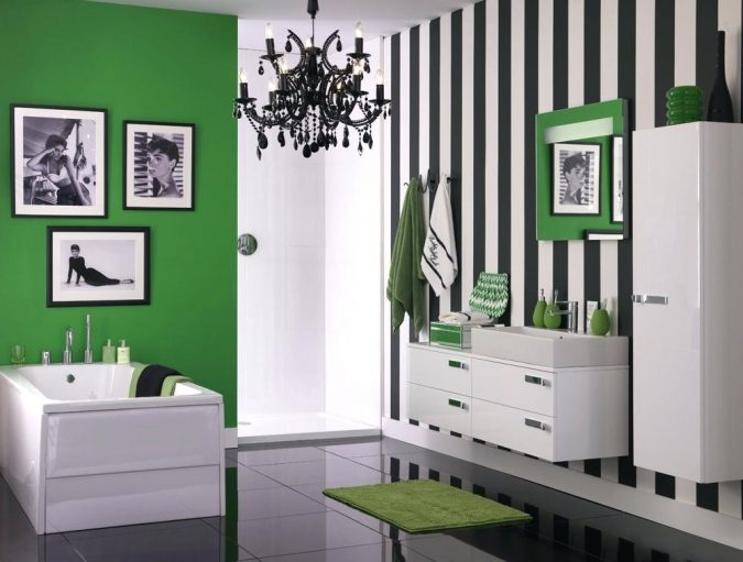 Mint-green-Striped-Bathrooms-675x511 7 Most Inspiring Bathroom Design Ideas for Your Next Renovation