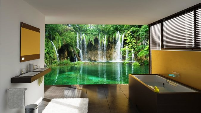 Mural-Bathroom-675x380 7 Most Inspiring Bathroom Design Ideas for Your Next Renovation