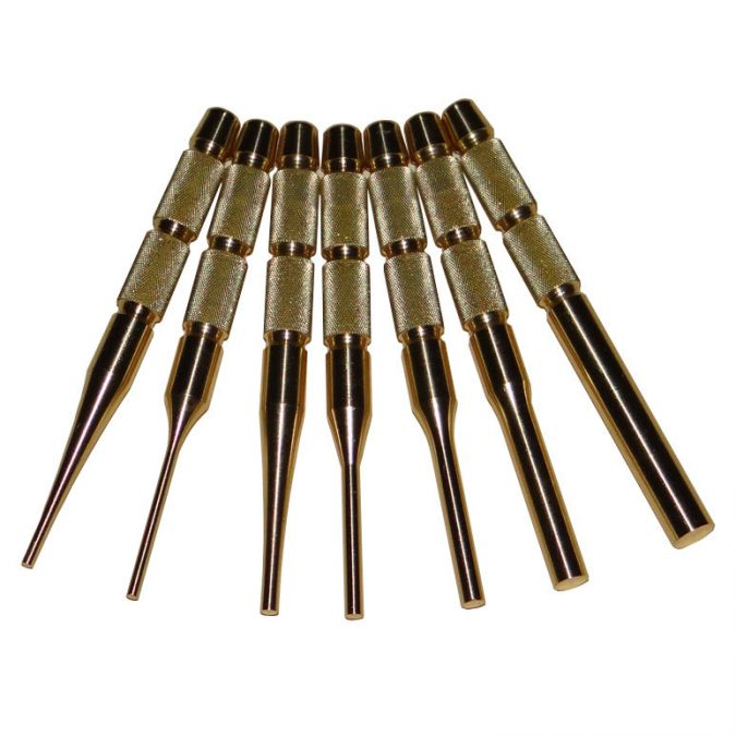 Punch-set-made-from-brass-675x675 5 Essential Gunsmithing Tools That You Need to Have