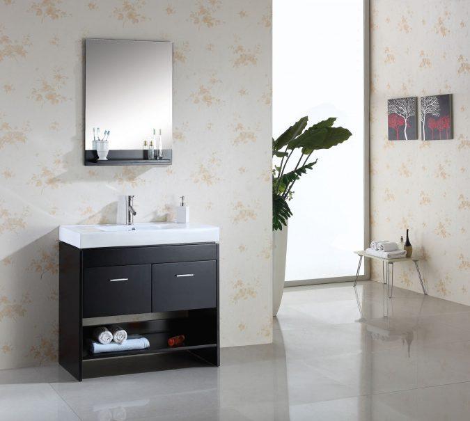 Sleek-Dark-stained-Bathrooms-675x605 7 Most Inspiring Bathroom Design Ideas for Your Next Renovation
