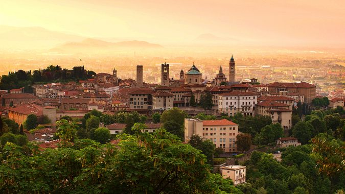 Sunrise_at_Bergamo_old_town_Lombardy_Italy-675x380 Best 5 Italy's Hidden Destinations