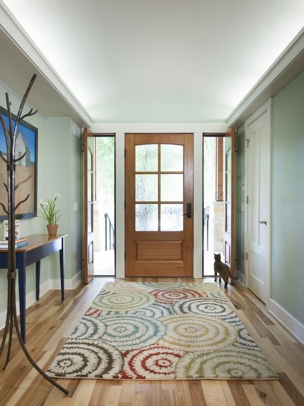 home-entrance-colorful-rug 12 Ways to Keep Your House Warm in Winter