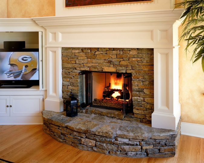 stone-fireplace-home-675x540 12 Ways to Keep Your House Warm in Winter