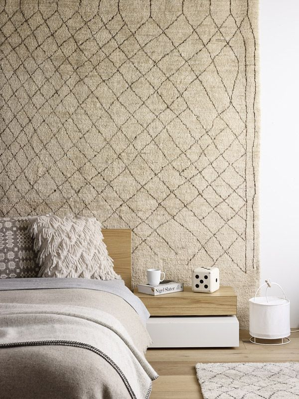 wall-rug-bedroom-decoration 12 Ways to Keep Your House Warm in Winter