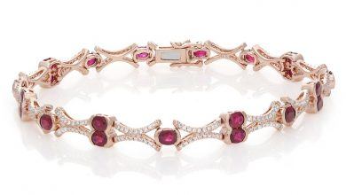 Photo of The 16 Top Ruby Tennis Bracelet Designs