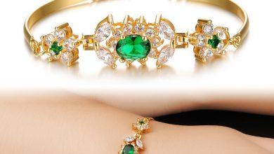 Photo of 18 Best Gold Gemstone Bracelets Designs