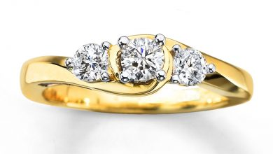 Photo of 3 Stone White Gold Engagement Rings for Women