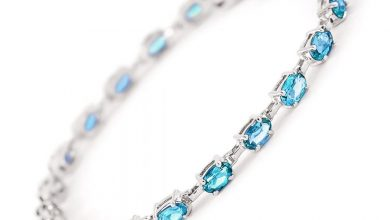 Photo of Blue Topaz Tennis Bracelet
