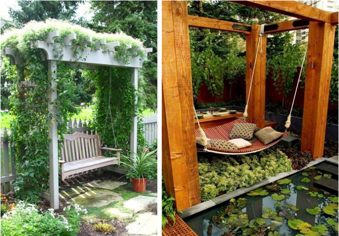 Home-gardens-swings-2-675x470 10 Garden Trends around the World that You Haven't Heard of